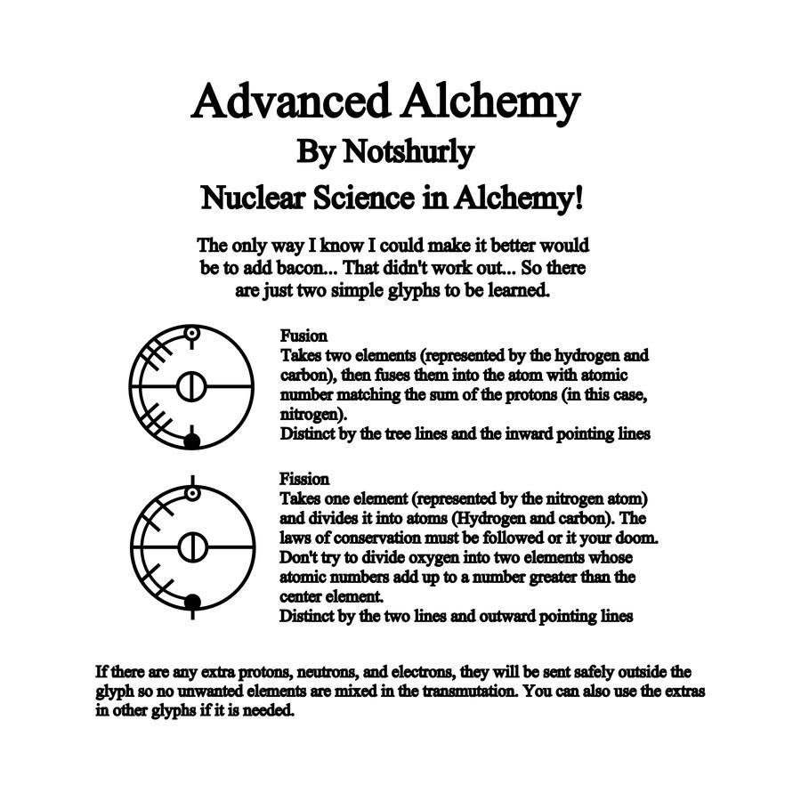 Nuclear Alchemy By Notshurly On Deviantart