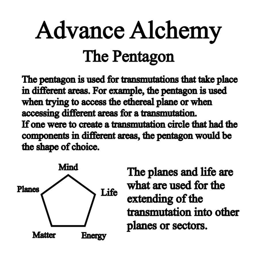 Pentagon- Alchemy by Notshurly