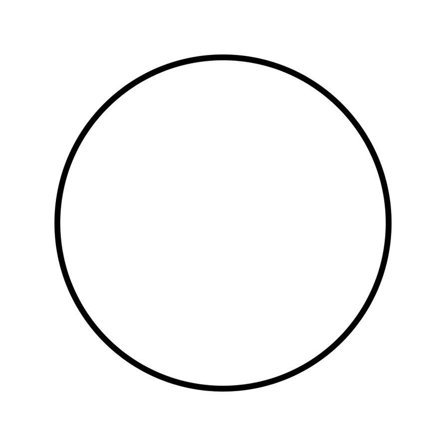 Как нарисовать на круг