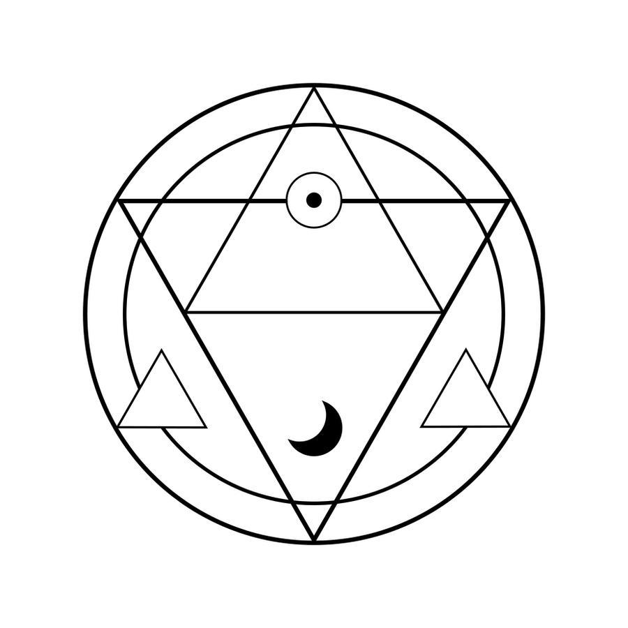 Tetragrammaton Tattoo Design