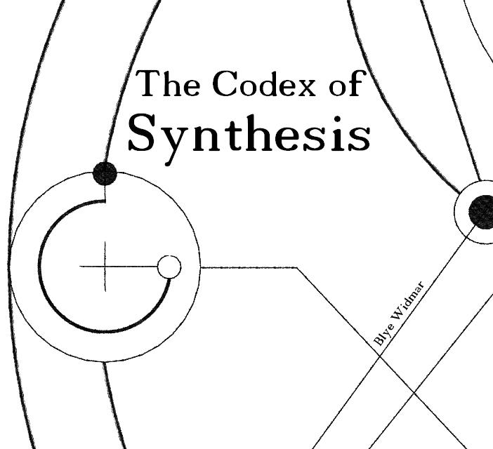 Album Cover- The Codex of Synthesis by Notshurly