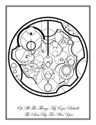 Gallifreyan Poetry- Of All The Things