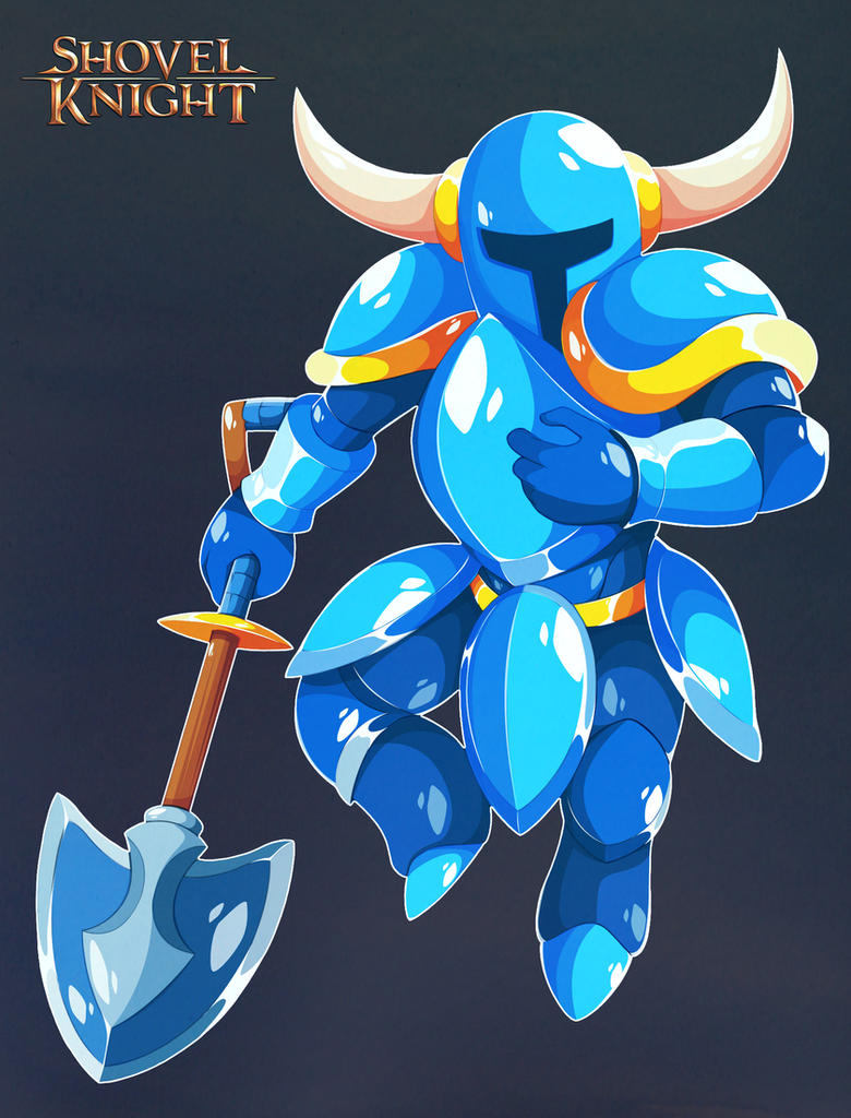 Shovel Knight by AbyssWatchers