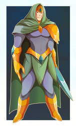 Endorian Spell-Swordsman by AbyssWatchers