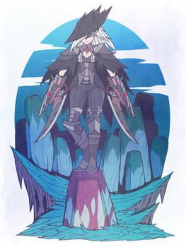 Lady Rassiel, the blood gunslinger