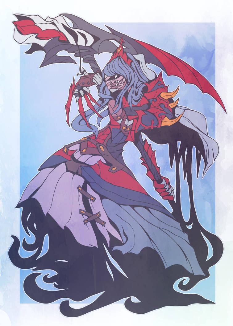 Lady Freia by AbyssWatchers
