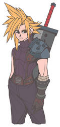 Cloud Strife by AbyssWatchers