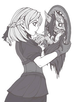Jane and the demon mirror