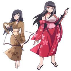 Rin and Kanna