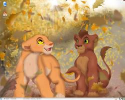 TLK: Kiara and Kovu by Catsby