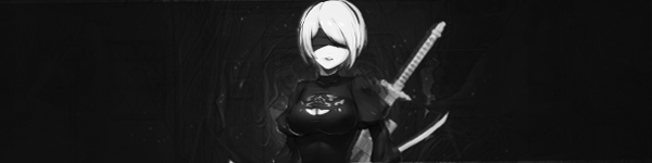 Nier Automata 2B Signature by Rosey-Rose