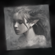 Smudge Grayscale Profile Picture Steam by Rosey-Rose