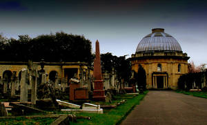 Cemetery  West Brompton London by tbest