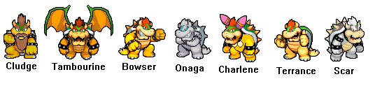 Bowsers Family By S Yaridovich9X On DeviantArt