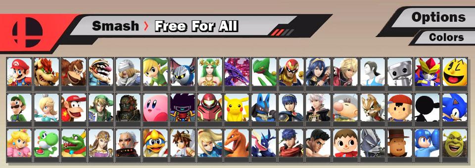 Super Smash Bros. 3DS / Wii U - Fake Roster by SuperMase9X on DeviantArt