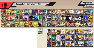 Super Smash Bros. 5 - Fake Roster by SuperMase9X