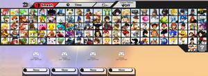 Super Smash Bros. 5 - Character Roster