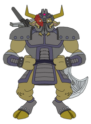 Jun Kun - Iron Sentinel by SuperMase9X
