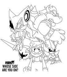 Super Bowser Saga - Whose Side Are You On? by SuperMase9X