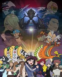 Pokemon Roleplay - Sinnoh Saga Poster by SuperMase9X
