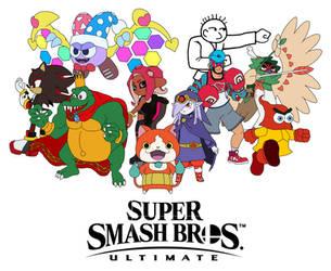 Super Smash Bros. Ultimate - My Newcomer Hopefuls by SuperMase9X