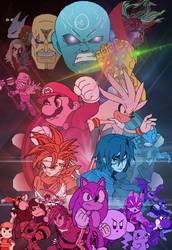 Smash Fighters Z - Eternity Gauntlet Saga by SuperMase9X