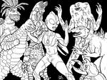 Monsters and Ultraman