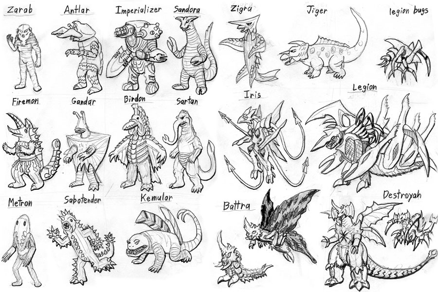 Monster Legends Coloring Pages Sketch Coloring Page: Ultraman Monster Coloring Pages Coloring Pages