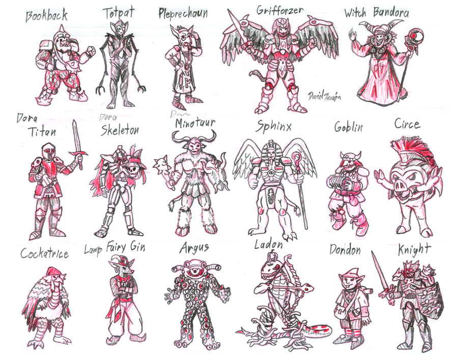 Zyuranger Foes 1 by strangefour