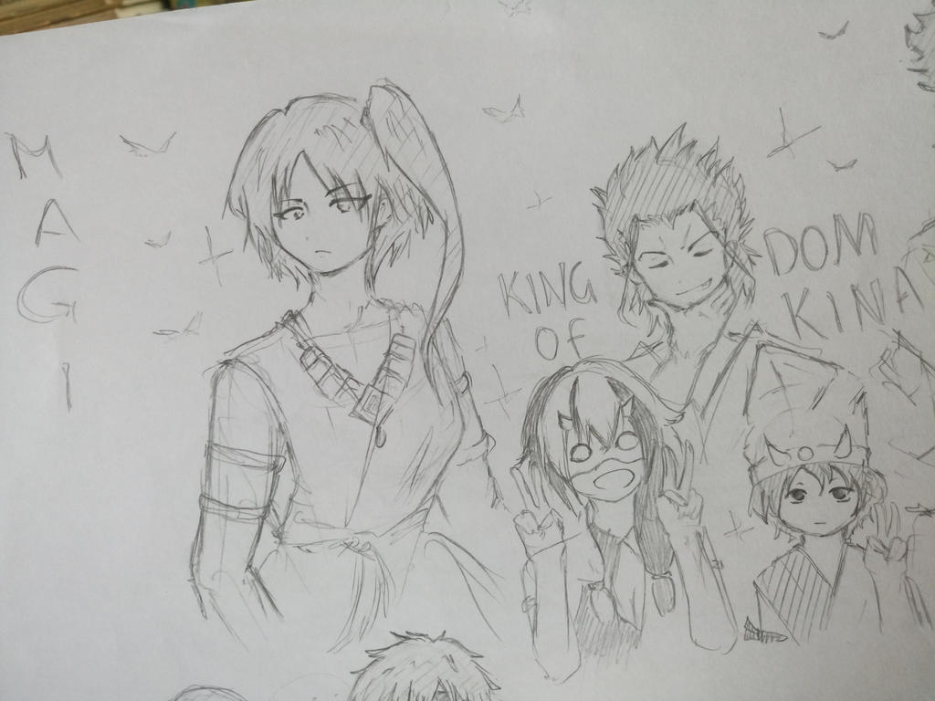 Magi - sketches by HakuRyoun