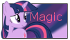 Twilight Sparkle Magic stamp by NightSilverChelly