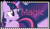 Twilight Sparkle Magic stamp by NightSilverChelly