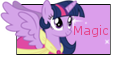 Twilight Sparkle Alicorn Stamp by NightSilverChelly