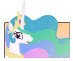 Celestia Stamp by NightSilverChelly