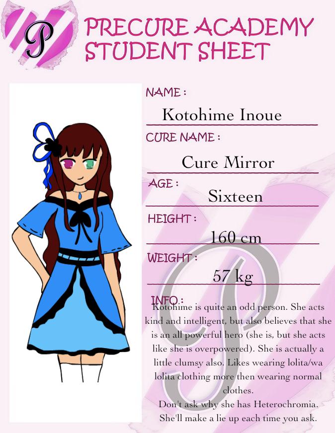 Precure Academy Student ID by TwistedCorn