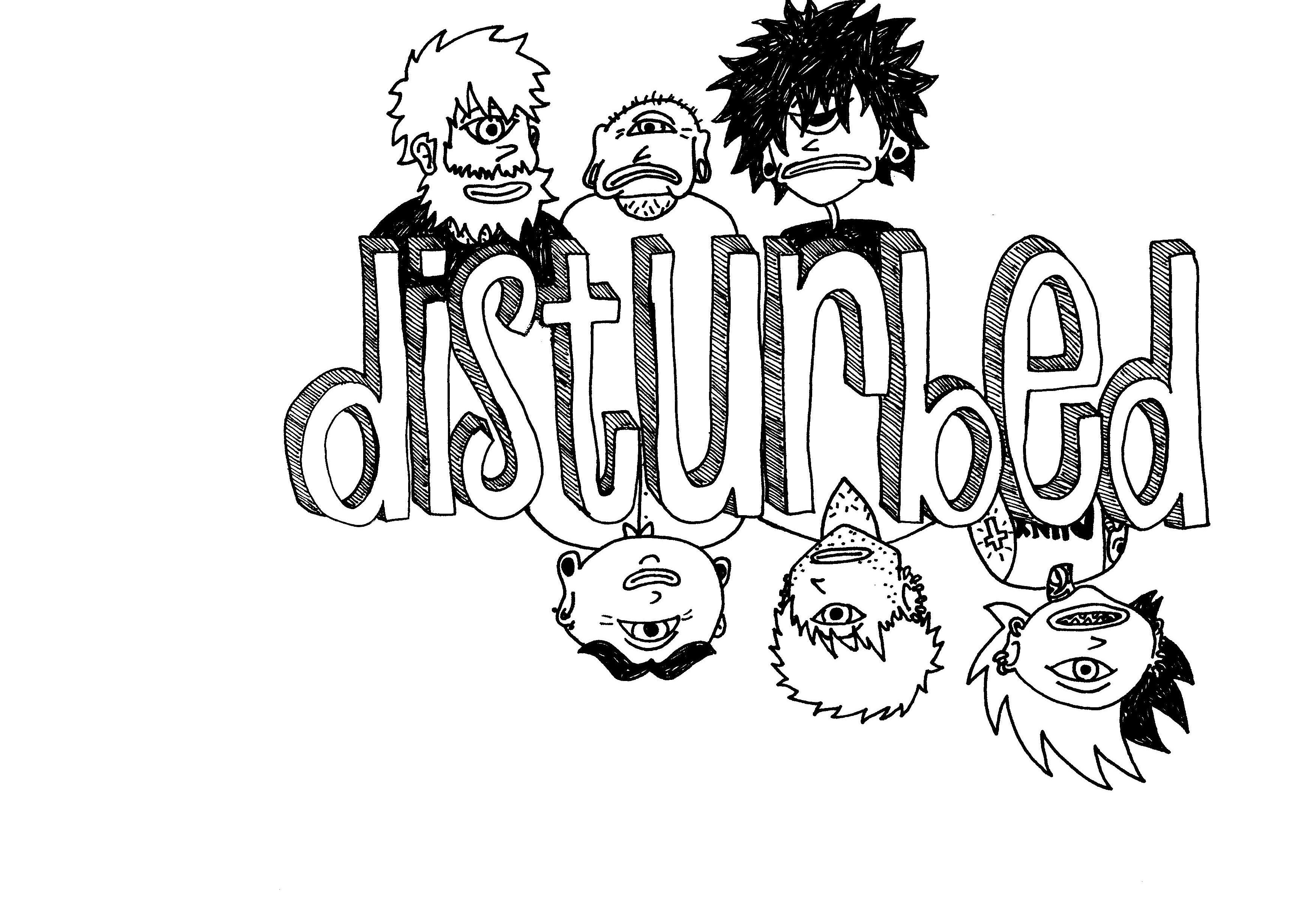 .disturbed :: logo I. by heismyvalentine on DeviantArt