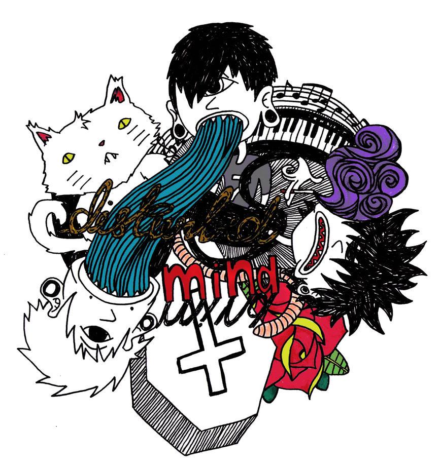 .disturbed :: logo II. by heismyvalentine on DeviantArt