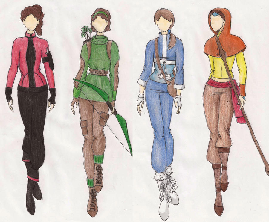 Winter fashion design OCu0026#39;s by ardnemla on DeviantArt
