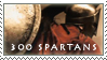 300 Spartans Stamp by Alcamin