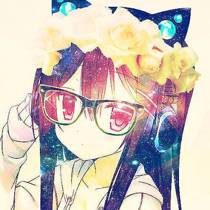 Cute Anime Girl Neko Wt Flower Crown By Kittypopsoda On
