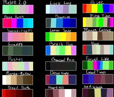 palette challenge, request(open) by FuntimeError887