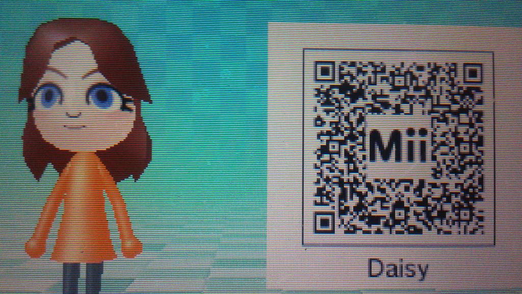 Daisy Mii Qr Code Tomodachi Life
