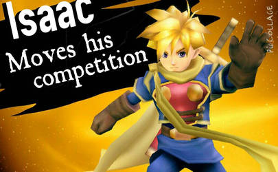Isaac Super Smash Bros Wii U and 3DS by Theclassicnathan