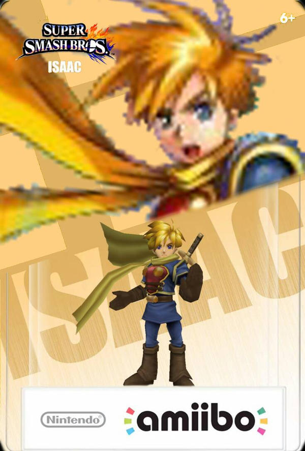 amiibo that I would like to see made Ssb4_isaac_amiibo_by_theclassicnathan-d90d2dy