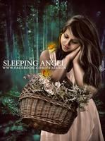Sleeping Angel by fisalaliraqi
