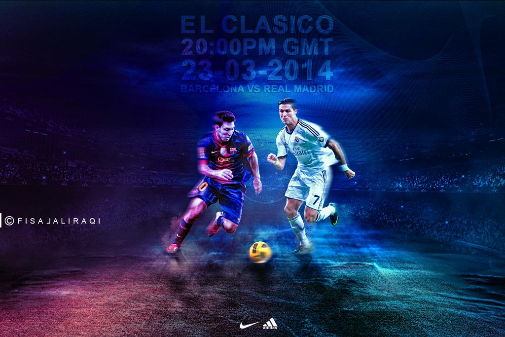 El Clasico FC Barcelona vs Real Madrid CF by fisalaliraqi ...