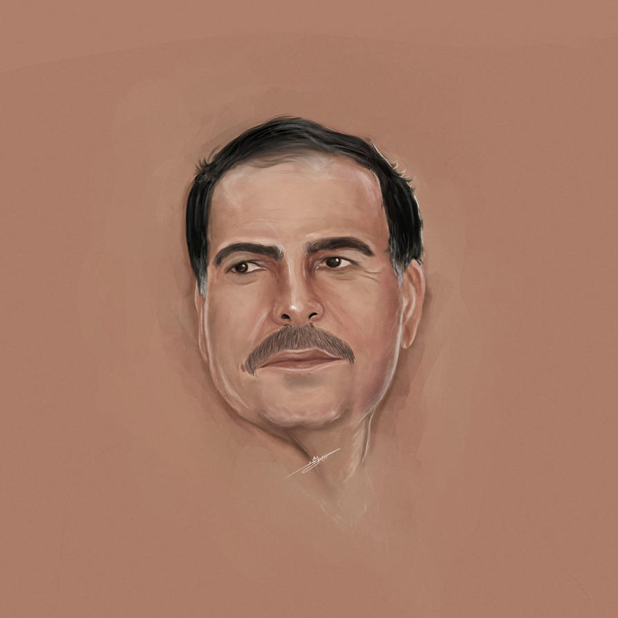 Portrait drawing by fisalaliraqi