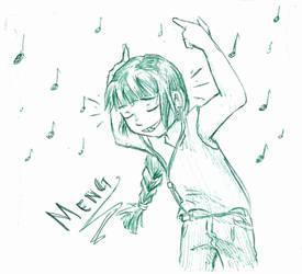 Meng Rocking by avatarmirai