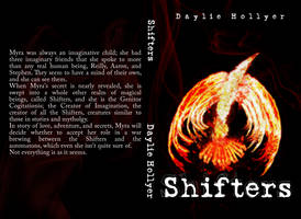 Shifters: Novel Cover Concept by TarnishedHearts