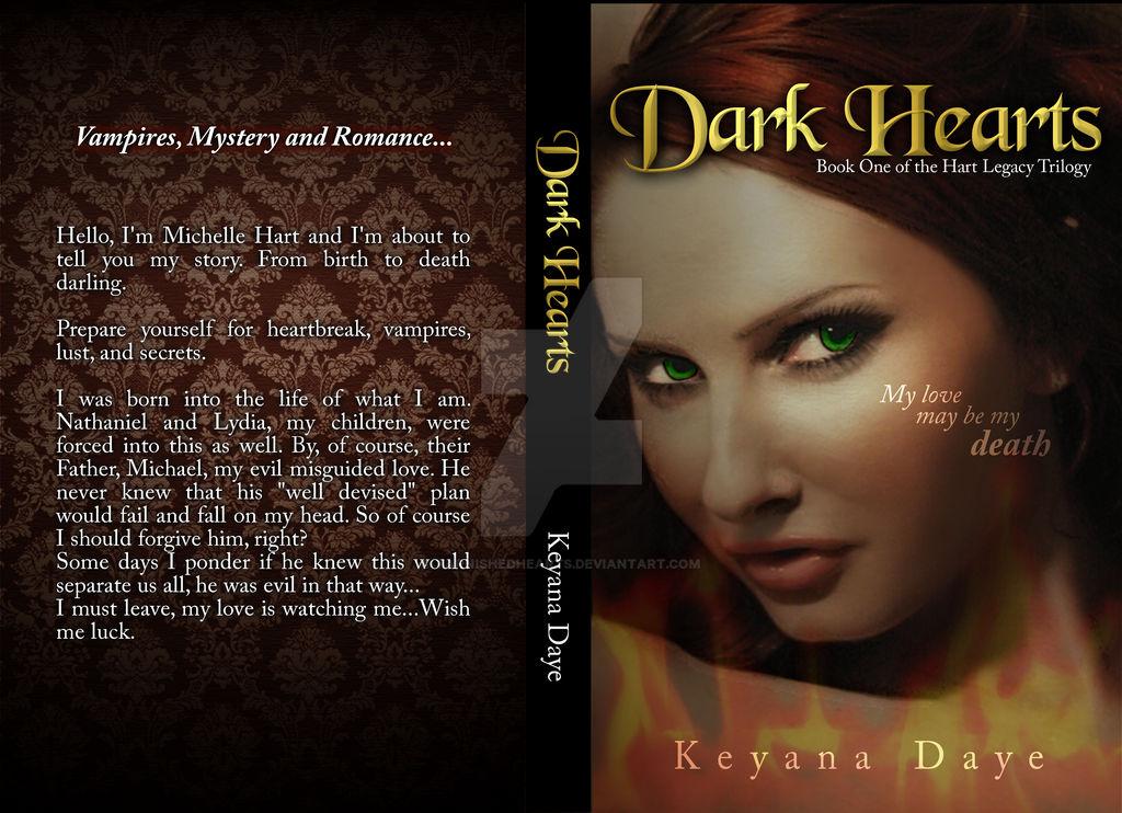 Dark Hearts NovelCover Concept